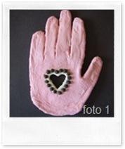 Marcel's Kid Crafts - mano con il cuore