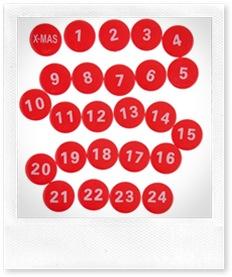 Calendario del Natale di Casa Organizzata