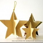 Lavoretti di Natale: le stelle Eco Chic Craft Christmas