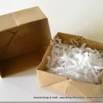 Lavoretti di Natale: scatoline di carta ad origami Eco Chic Craft Christmas per i regali