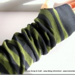 Regali di Natale: i guanti senza dita riciclati eco chic craft Christmas