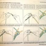 Mancini: imparare la maglia ai ferri con la mano sinistra