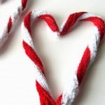 -50 giorni a Natale: bastoncini di zucchero DIY
