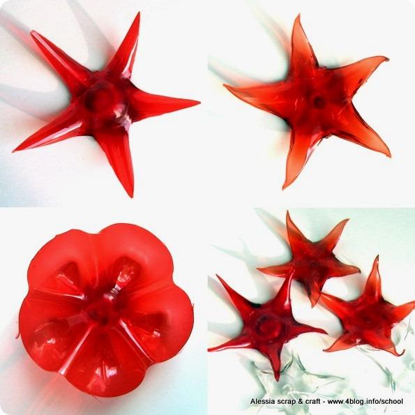 http://www.4blog.info/school/2011/50-giorni-a-natale-tutorial-stelle-di-plastica-pet/#more-5428