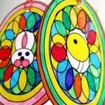 Lavoretti di Pasqua: uova mandala da colorare