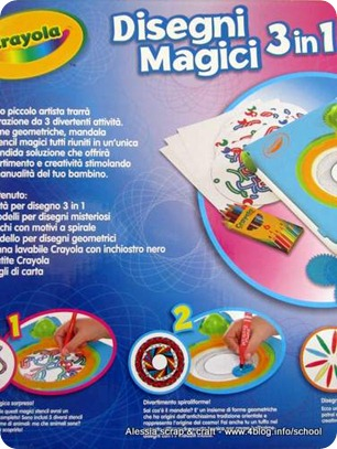 Sponsored Post: Disegni Magici 3 in 1 di Crayola