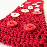 Scuola di Uncinetto: pattern di RED braccialetto a rete alternata