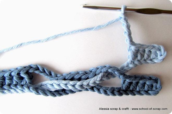 Школа вязания крючком стежка учебник Onda (Волна стежка)