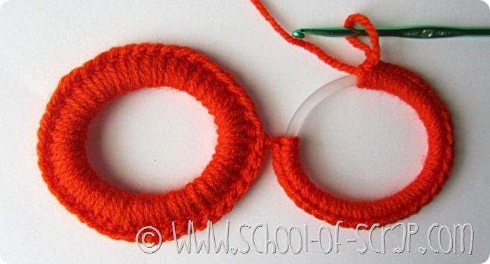 Escola de crochê: máscaras de abóbora para o Halloween