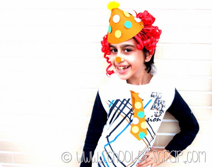 Carnevale fai da te: come fare la maschera da clown in 5 minuti a costo zero
